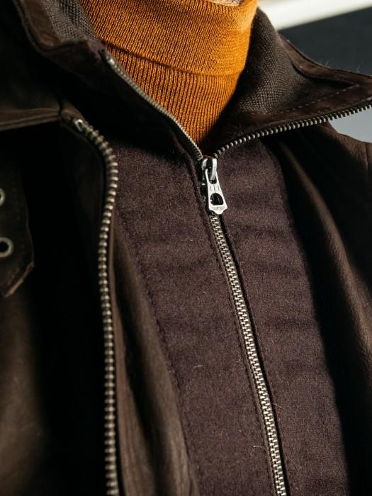 Ford - Veste cuir homme
