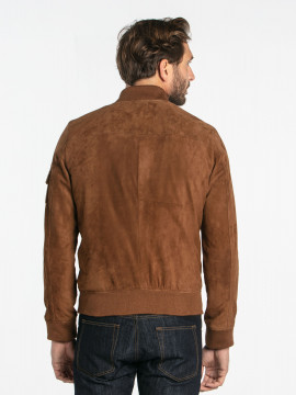 Ted goat suede - Blouson cuir homme