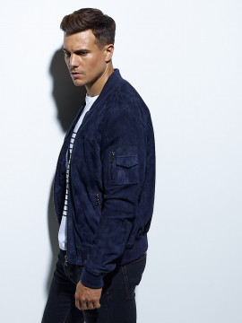 Ted Goat Suede Blouson Homme