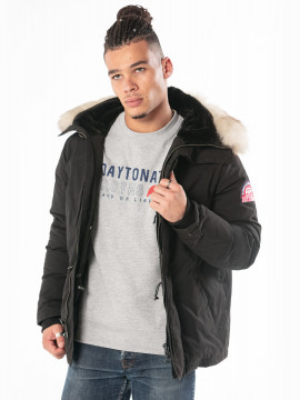 Paratist White Fur Veste Homme