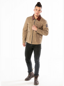 Hawk - Veste Canvas Homme