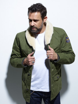 Lincoln Slub Canvas Veste...