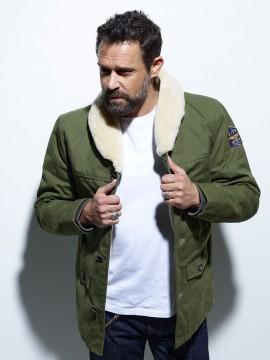 Lincoln - Veste textile homme