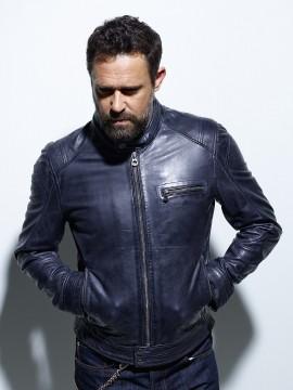 Hugo - Blouson cuir homme