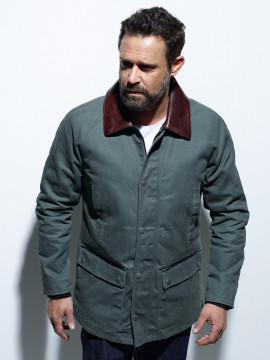 Franklin Slub Canvas Veste...