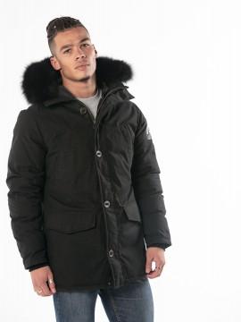 Kiplood Black Fur Veste Homme