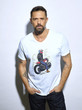 Guy On Ride T-shirt Homme