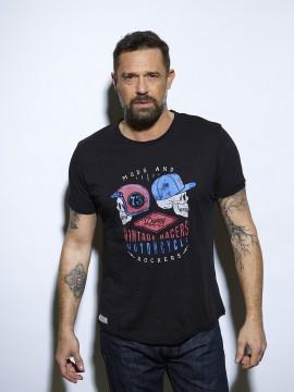 Twinskulls T-shirt Homme