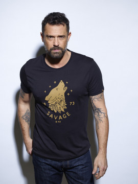 Wolf T-shirt Homme