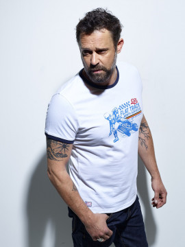 Flat Track T-shirt Homme