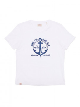 Nautical T-shirt Homme