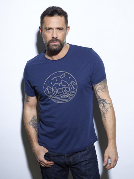 Skull night - T-shirt  homme