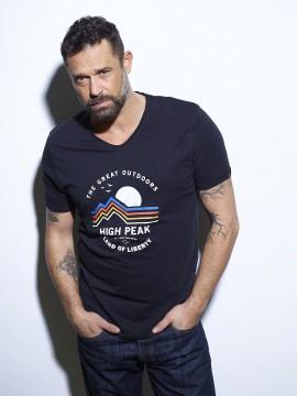 High Peak T-shirt Homme