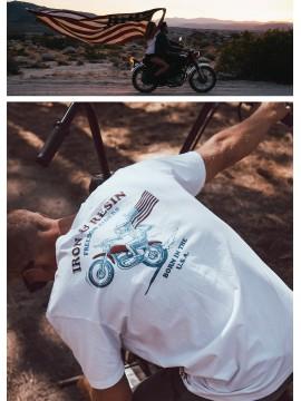 Ride free - T-shirt textile...