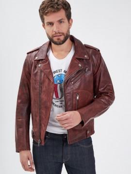 Redford - Blouson cuir homme