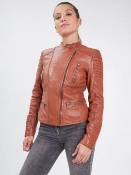 Mariposa - Blouson cuir femme