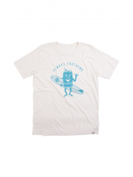 Always Frothing T-Shirt Iron and Resin