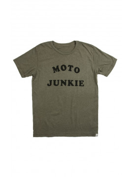 Moto Junkie T-Shirt Iron and Resin