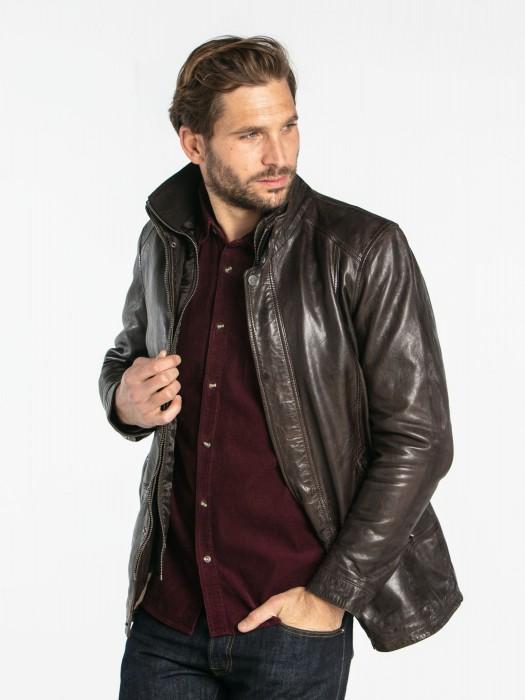 Gloster - Veste cuir homme