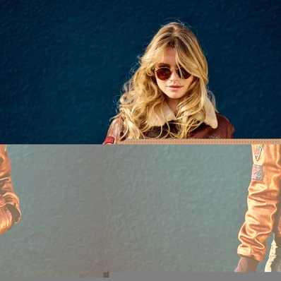 Même votre compagne voudra l'essayer !  👉  Modèle Mythic  📷 @fredericmercier_official - - - - #daytona73 #fallwinter21 #automnehiver21 #leather #jacket #leatherjacket #flightkacket #blouson #blousonaviateur #blousonpilote #apparel #leder #cuir #fashion #fashionista #mode #ootd #vintage #aviator
