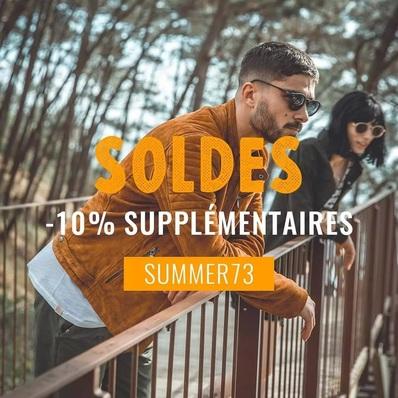 SOLDES ☀️ L'ultime démarque est lancée sur l'e-shop. Profitez de -10% supplémentaires à partir de 50€ d'achats avec le code SUMMER73 👉 Shop now > daytona73.com - - - - #daytona73 #summer #springsummer21 #soldes #sales #promo #summersales #leather #jacket #leatherjacket #blouson #cuir #veste #tshirt #fashion #fashionista #mensfashion #menstyle #menswear #stylish #apparel